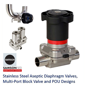 SED Diaphragm valves