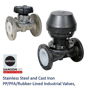SED Industrial valves