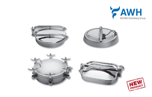 Stainless Steel Tank Lids